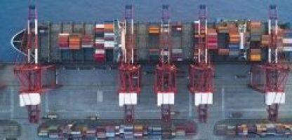 Security vs efficiency smart ports