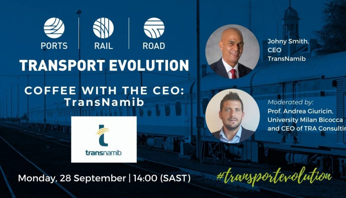 Coffee with the CEO of TransNamib social media banner